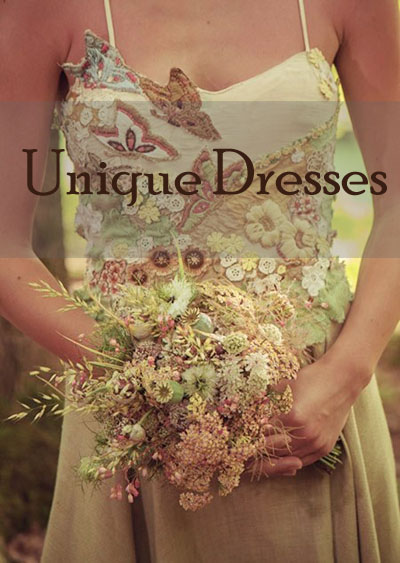 Unique Wedding Dresses by Tara Lynn