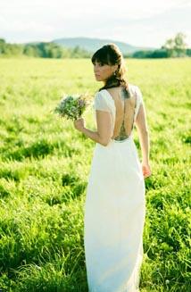 Bella   A Beautiful, Backless Wedding Dress