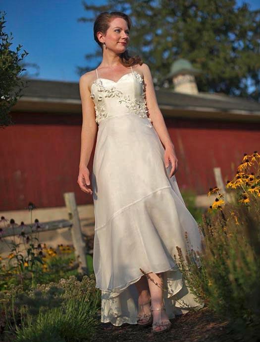 Ethereal Wedding Dress | Unique Wedding Dress | Persephone by Tara ...