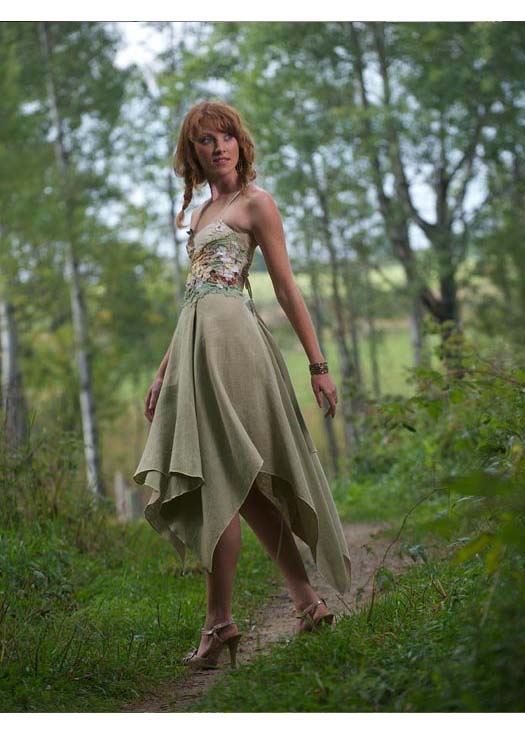 Woodland Fairy Wedding Dress