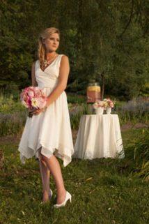 Pixie wedding dress by Tara Lynn