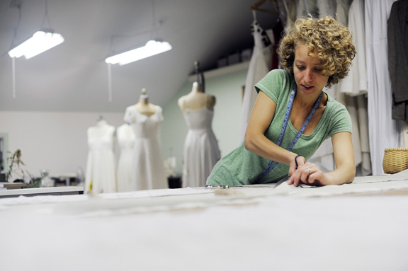 American Made Custom Wedding Gowns In Vermont
