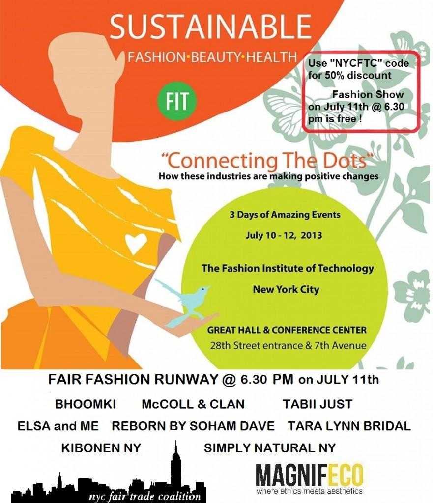 Fair Trade Sustainable Fashion Show