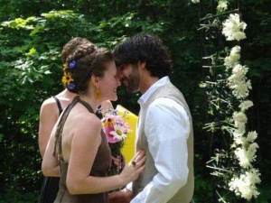 Hippie wedding dress hemp wedding dresses halter wedding dresses on color brown wedding dress