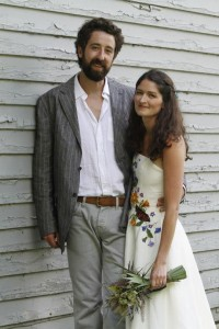 Diana's Non-Traditional Wedding Dress with straps | Eco friendly hemp wedding dresses | Made in Vermont | Hancock, NY | Under $5000