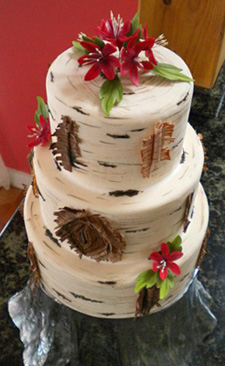 Bake Aria Birch Cake