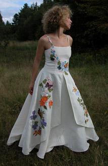 Fiorella   A Unique, Embroidered Wedding Dress