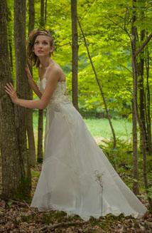 Persephone   An Ethereal Wedding Dress