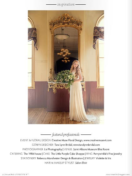 Eco-friendly Emerald Wedding Inspiration