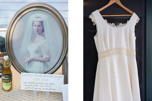 repurposing heirloom wedding dresses