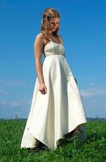 Maya   A Hippie Wedding Dress