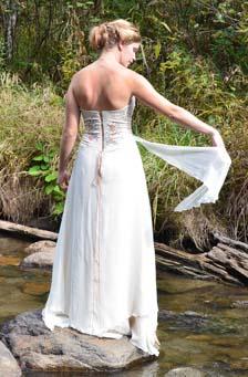 Sylvania   A Romantic Woodland Wedding Dress