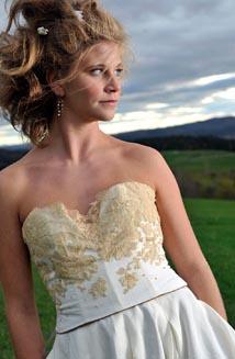 Chiara   A Vintage Lace Wedding Dress