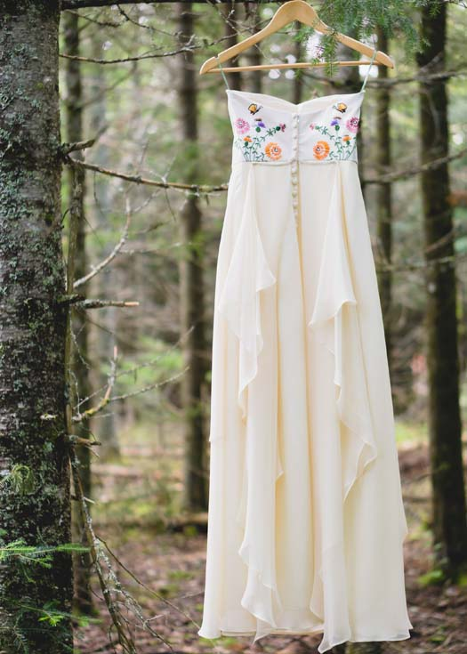 Custom wedding dress by Tara Lynn Bridal