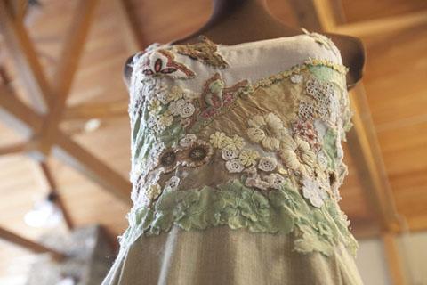 Hemp Fest Wedding Dress by Tara Lynn