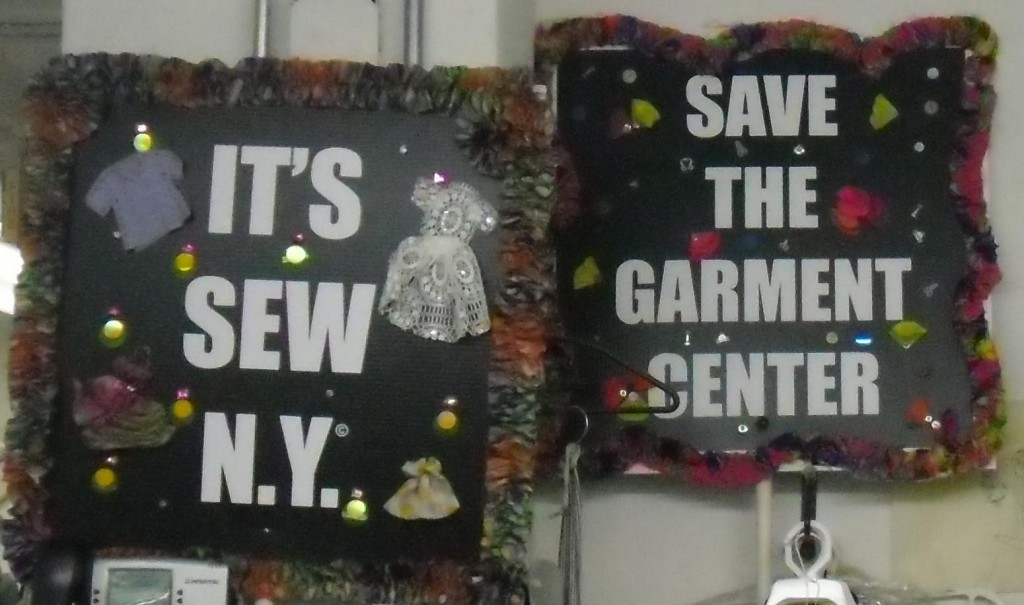 save the garment center Nanette Lepore