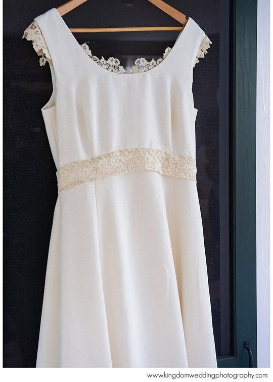Custom Wedding Dress Hemp Wedding Dress Vermont Made
