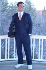 Men's hemp suit, bespoke suit, custom suit made in the USA, Made in Vermont