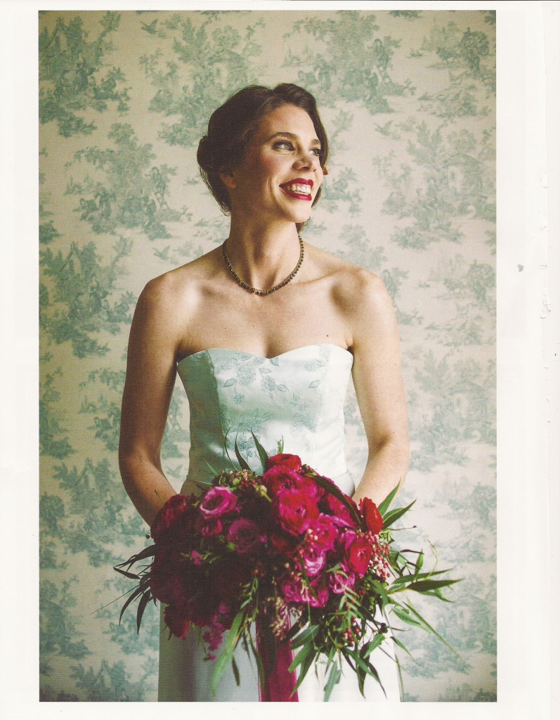 VT Bride Magazine, Blue wedding dress, museum wedding, Tara Lynn Bridal