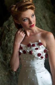 Linda | A Stunning Lace-Up Wedding Dress