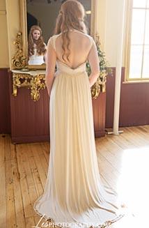 Chloe | A Sophisticated Goddess Wedding Dress