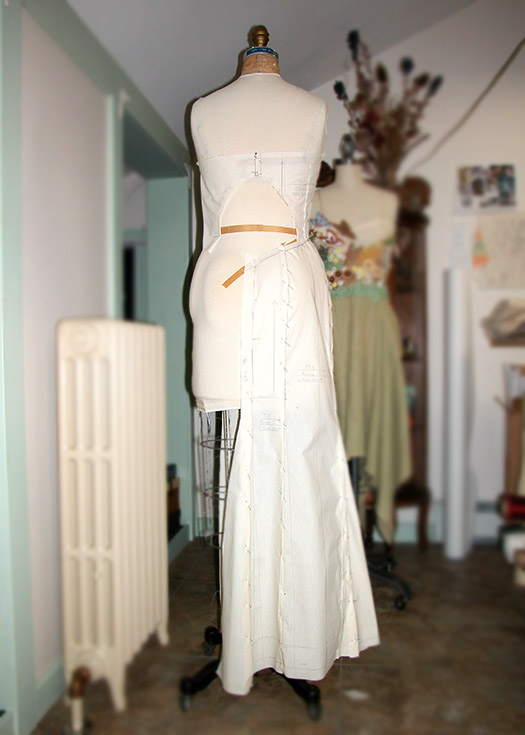 Custom fit wedding dress by Tara Lynn Bridal
