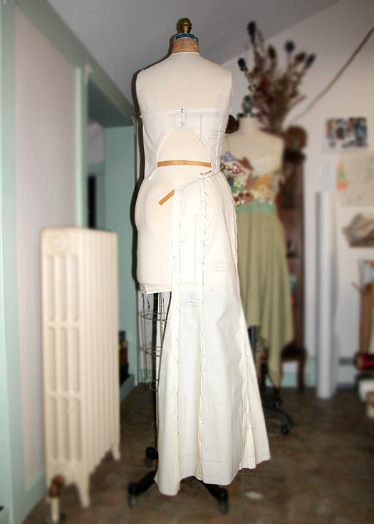 Custom fit wedding dress by Tara Lynn Bridal