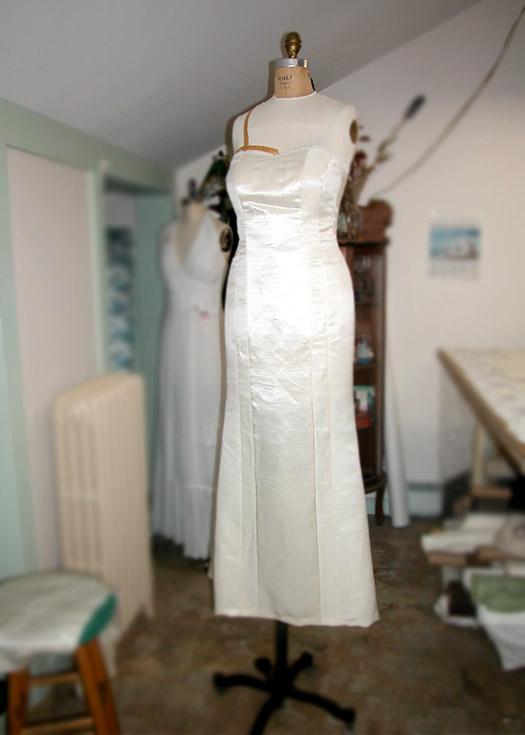 Custom made Wedding Dress Vermont