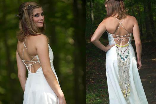 Bohemian Wedding Dress by Tara Lynn