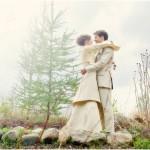 Eco- conscious wedding hemp suit, shirt and pant made by Tara Lynn Bridal