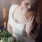 Eco friendly Vegan goddess natural wedding dress
