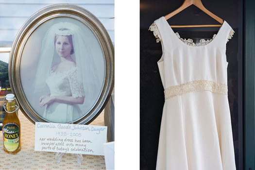 Re-Purposing Heirloom Wedding Dresses