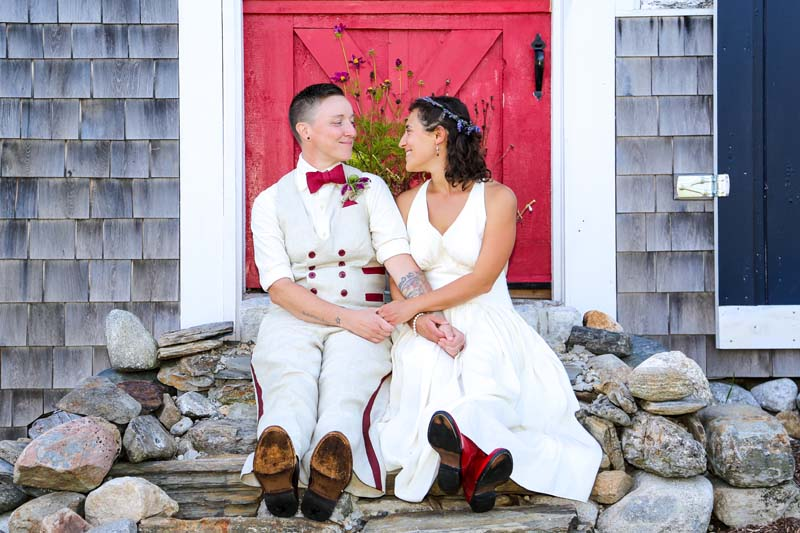 A Colorful Barn Wedding