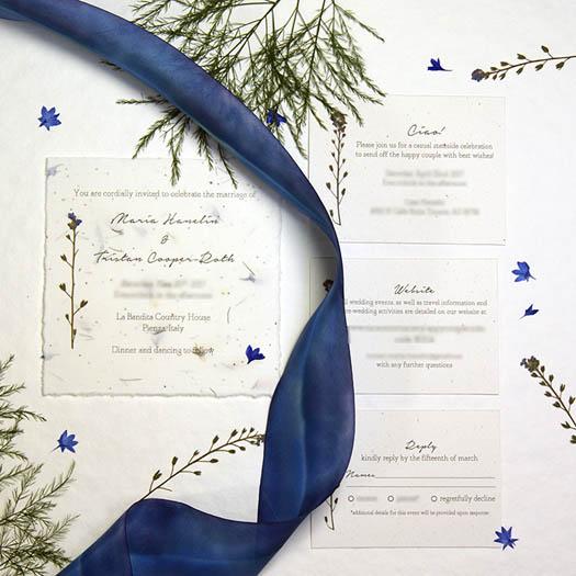 3 Custom EcoFriendly Wedding Invitation Companies Tara Lynn Bridal