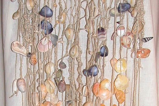 Seashell Wedding Dress by Tara Lynn