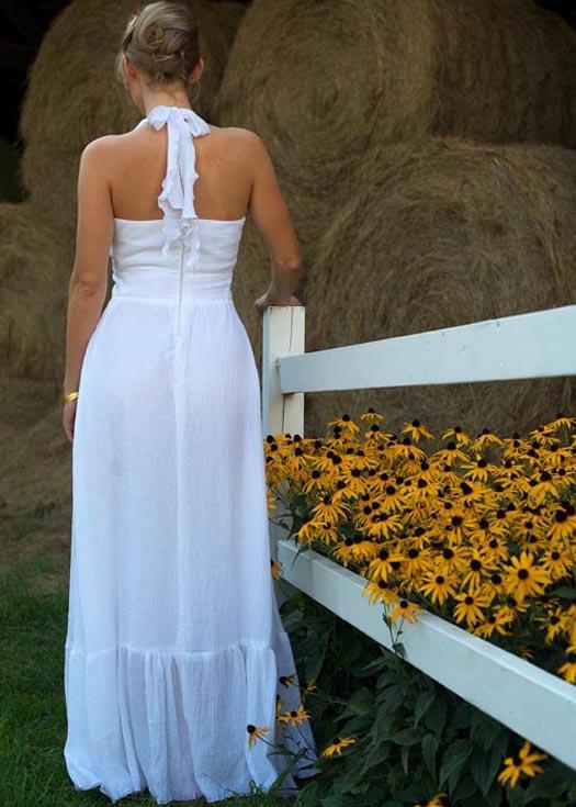 Cotton Wedding Dress   Mariana by Tara Lynn Bridal