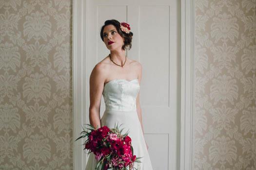 Custom Wedding Dress by Tara Lynn