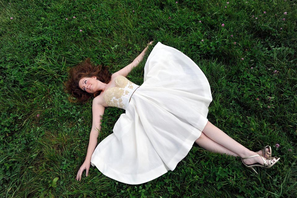 Eco-friendly wedding dresses by Tara Lynn