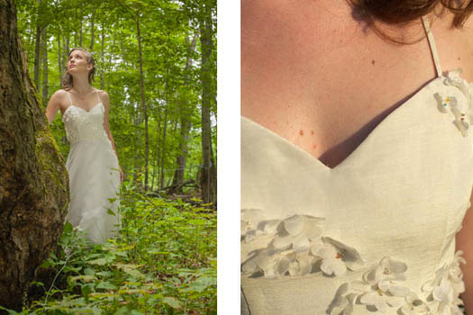 Ethereal Wedding Dress by Tara Lynn
