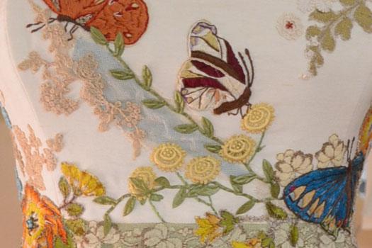 Butterfly Wedding Dress by Tara Lynn