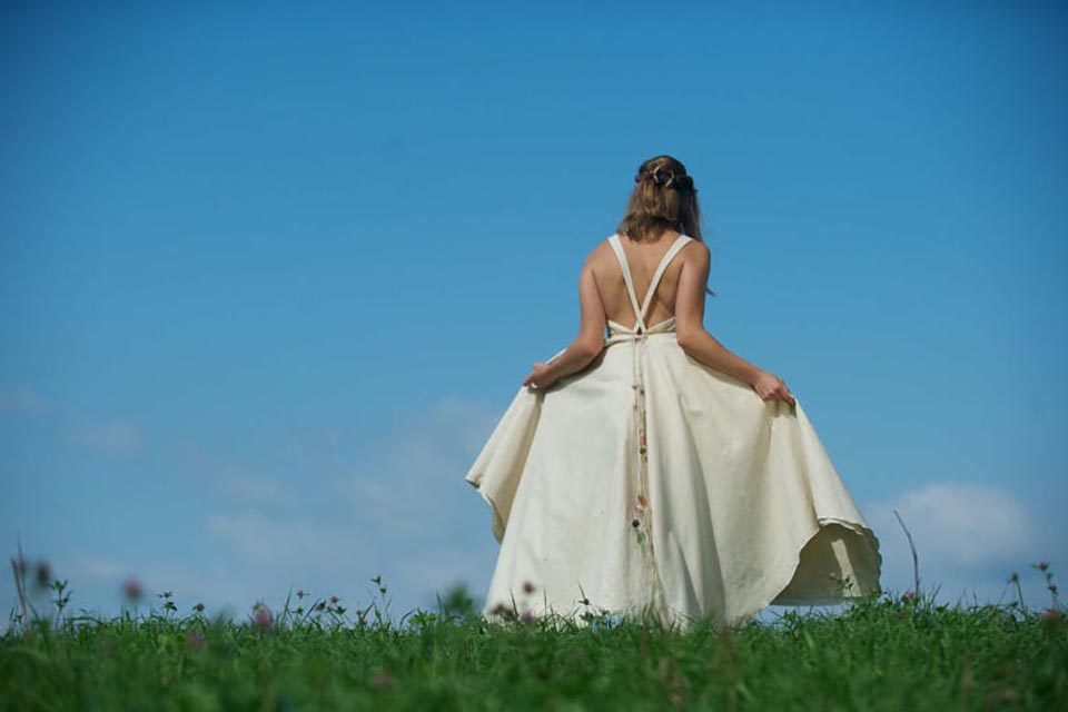 Hippie Wedding Dress - Tara Lynn Bridal