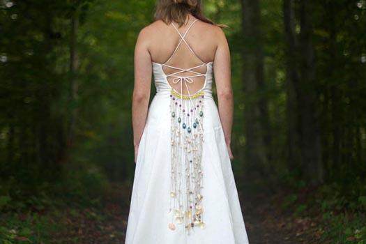 Bohemian Wedding Dress Tara Lynn