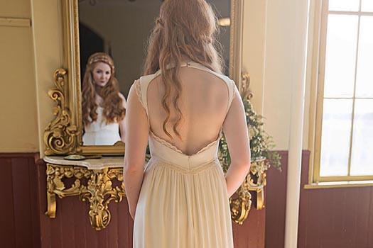 Vegan Wedding Dress Tara Lynn