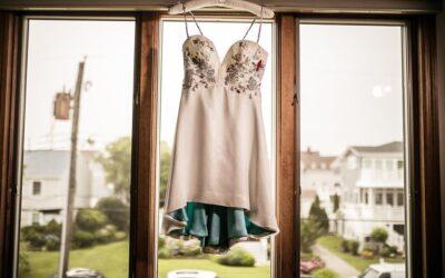 Custom Sea Life Wedding Dress by Tara Lynn