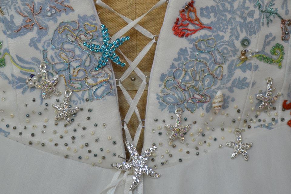 Starfish wedding dress by Tara Lynn