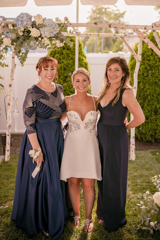 custom made wedding dress by Tara Lynn